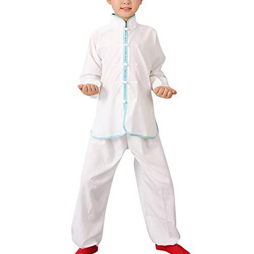 Daytwork Kinder Kung Fu Uniform Chinesische - Kampfsport Bekleidung Sets Schüler Jungen Traditionell Tai Chi Wushu Leistungskostüme Mädchen Sport Kleidung Trainingsanzüge