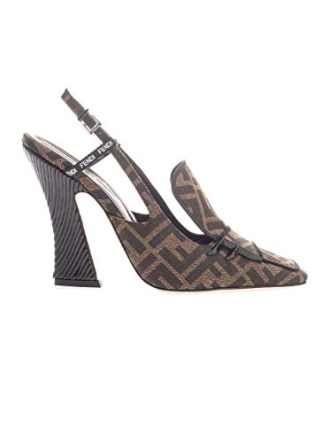 FENDI Luxury Fashion Damen 8J6938A84HF16Z7 Braun Pumps | Herbst Winter 19