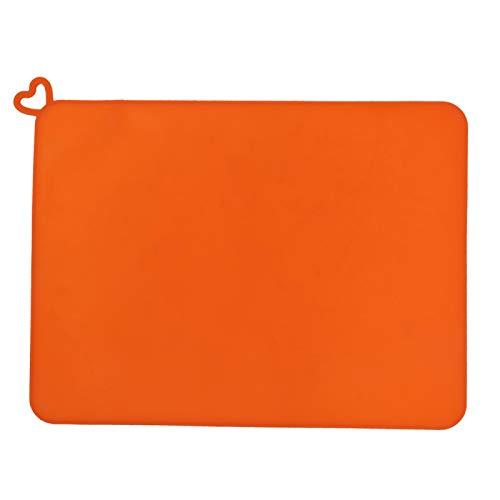 Alfombrilla de resina fotosensible de silicona para impresora 3D Accesorios de almohadilla de resina fotosensible antideslizante suave naranja