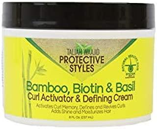 Taliah Waajid Protective Styles Bamboo Biotin & Basil Curl Activator & Defining Cream 8oz