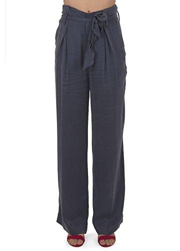 Intropia P686PAN06070204 Pantalones, Mujer, Azul (Marino 204), 42 (Tamaño del Fabricante:42)