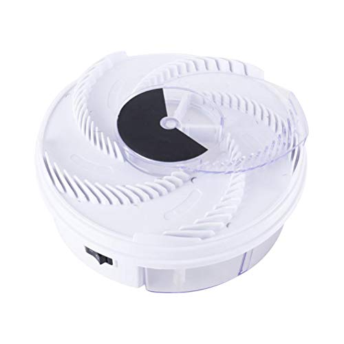 Jsdufs Atrapamoscas eléctrico automático Atrapamoscas Atrapamoscas Atrapamoscas eléctrico, Trampa para Insectos USB, Repelente de Insectos para el hogar, Cocina, Restaurante
