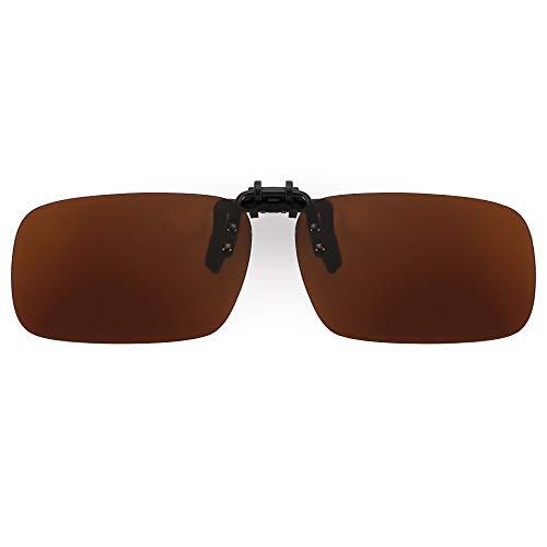 Cyxus Polarized Classic Sonnenbrille Wechselrahmen sehbrillenkompatibel [Blendfreie] [UV-Schutz] Fahren/Angeln Outdoor