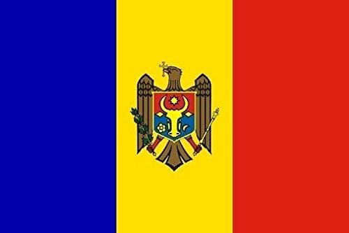 U24 Flagge Fahne Moldawien 90 x 150 cm
