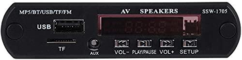 MWKL Reproductor MP5 actualizado, 1280 * 720 HD MP5 Player SSD Stereo MP5 Player con Entrada FM/AUX/Control Remoto