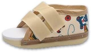 Premium Childrens Post Op Broken Toe/Foot Fracture Round Toe Walking Shoe Cast - Pediatric - Sizes 7.5-10.5