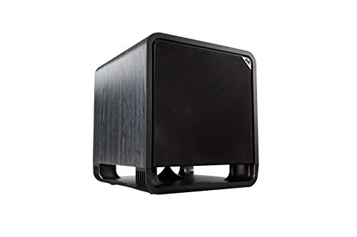 Polk Audio HTS 12 Powered Subwoofer - Black Walnut finish