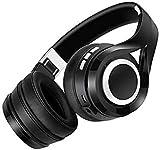 XUERUIGANG Ruido inalámbrico cancelando Auriculares sobre oído sobre oído - 16 Horas de Tiempo de Escucha, Bluetooth, micrófono Incorporado a los Auriculares de bajo para PC/celulares/TV