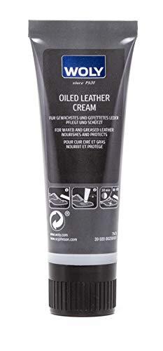 woly oiled Leather Cream–Especial de cuidado Crema para todos los tipos de piel de piel sin color (neutro) 75 ml
