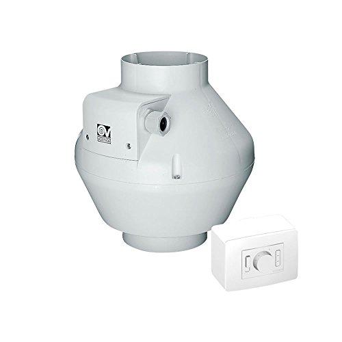 Vortice Rohrventilator CA 125 V0 D EP Kunststoff 347 m³/h