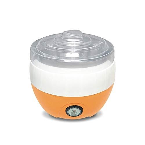 Elektrische Automatische Yoghurt Maker roestvrijstalen voering Container Acidophilus Melk Gereedschap Huishoudelijke Yoghurt Machine AC220V (Color : Yellow Stainless)