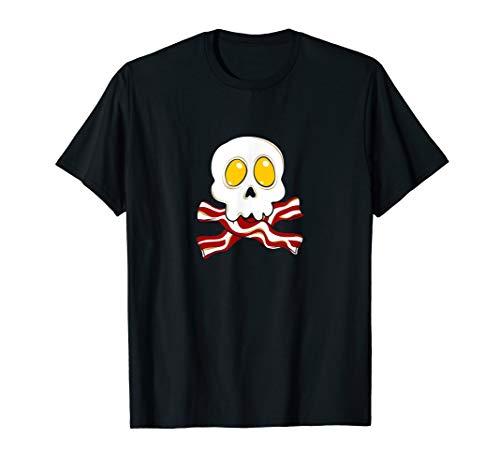 Speck N 'Eier Totenkopf | Frühstück Humor | Funny Bacon T-Shirt