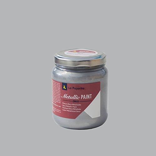 La Pajarita 106437 Pintura, Plata 175 ml