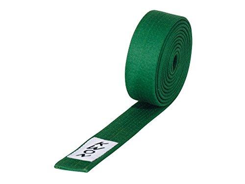 KWON Budogürtel 4 cm breit 260 grün