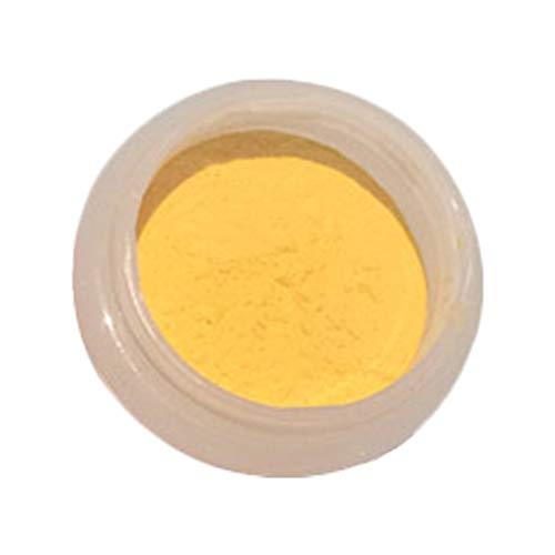 MILISTEN 2 Stücke Thermochrome Uv Aktivierte Pigmentpulver Wärmeempfindlichen Farbwechsel Pulver für Schleimfarbe Harz Epoxy Nagel (Weiß Ändern Gelb)