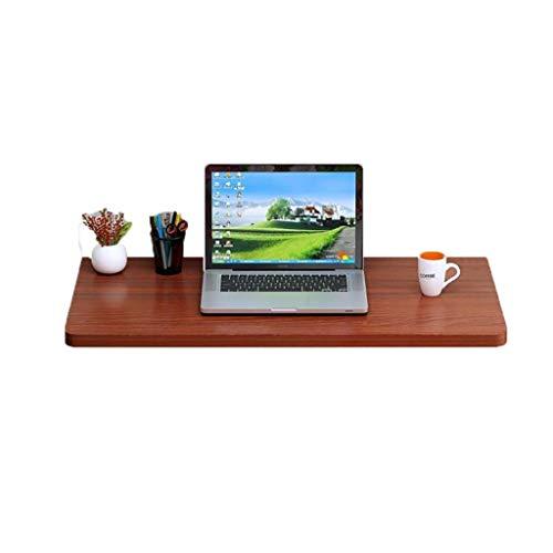 QARYYQ vouwstudie wandmontage bladverliezende MDF keukentafel voor studie slaapkamer of balkon teak klaptafel
