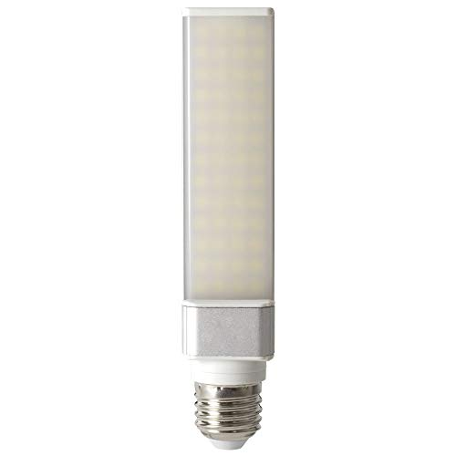 SevenOn 54838 Bombilla LED PLC 2 Pin E27, 11 W, Blanco, 11W