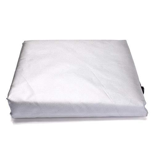 DETOAM Tessuto impermeabile per la copertura per mobili da esterno del patio,il divano portico,sedie rettangolari della sedie del tavolo della copertura del sofà del grande mobile