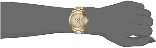 Michael Kors Women's Mini Slim Runway Gold Watch MK3477