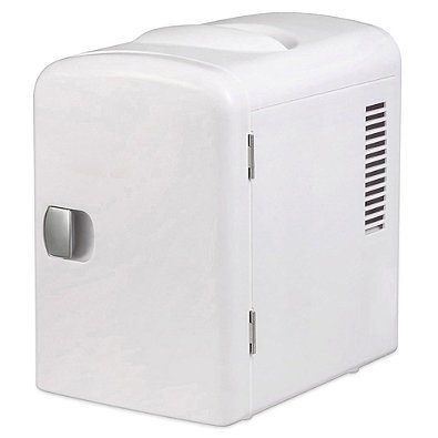 Personal Mini Fridge Cooler / Warmer White