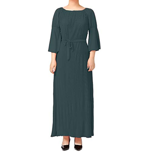 FeiBeauty FeiBeauty Frauen Muslimische Kleider Feste Schals Arabien Islamische Gebet Kleid Muslimische Kleidung Hijab Kleider Frauen Muslim Bat's-Flügelhülsen Kleid Hijab