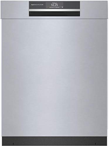 Bosch SHEM78ZH5N 24' 800 Series Smart Built-in Recessed Handle Dishwasher...