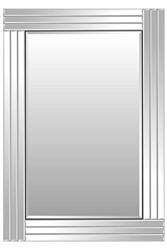 MirrorOutlet Espejo de Pared Grande Veneciano Biselado de 100 cm x 70 cm