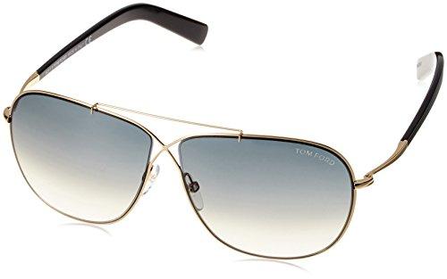 Tom Ford Gafas de Sol 393 (61 mm) Dorado/Negro