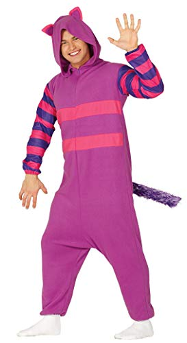 Guirca 88317 - Pijama Gato Lila Adulto Talla L 42 44