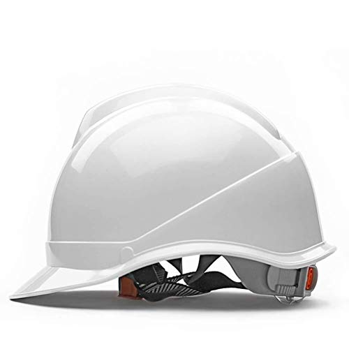ZBM-ZBM Casco De Seguridad, Tipo V Cascos De Ingeniería ABS De Alta Resistencia Sitio Casco Transpirable Antiácaros Casco de Seguridad Industrial (Color : White)