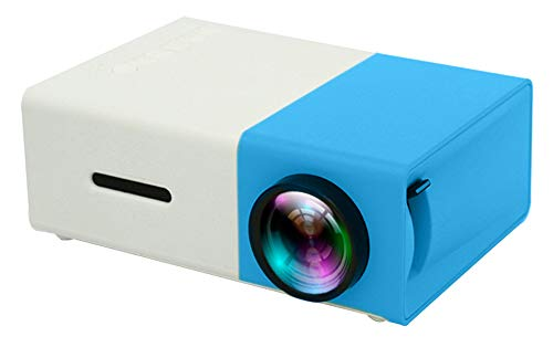 New Mini Projector,Portable Full Color LED LCD Video Projector for Children Present, Video TV Movie,...