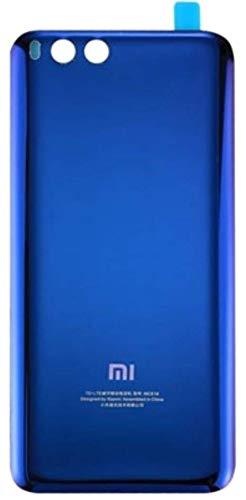 Desconocido Tapa Batería para Xiaomi Mi 6, Mi6, Cristal Trasero Cubierta Trasera (Azul)