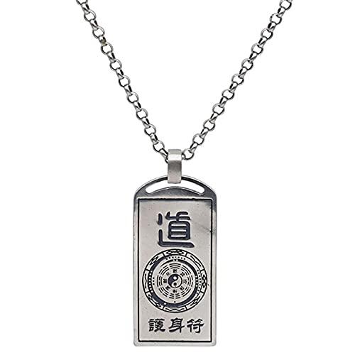 Dxnbp Plata Esterlina S925 Collar Colgante Joyeria Amuleto/Talisman Moda Fina Colgante para Mujeres Hombres Regalo Ideal Clásica Ideas Regalo con Embalaje
