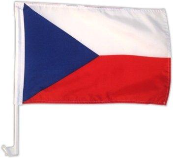 Autovlag autovlag Tsjechië 30 x 45 cm