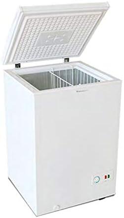 Congelador Arcón MILECTRIC Horizontal (Blanco) A+/F 98 litros - Dual System - 4