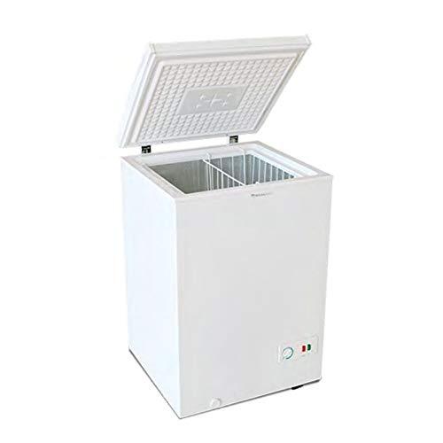 Congelador Arcón MILECTRIC Horizontal (Blanco) A+/F 98 litros - Dual System - 4****