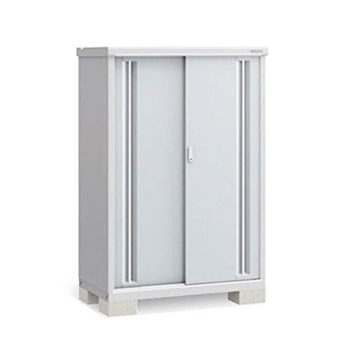 イナバ物置 MJX/シンプリー MJX-116DP 長もの収納タイプ 『屋外用収納庫 DIY向け 小型 物置』 FS(ファインシルバー)