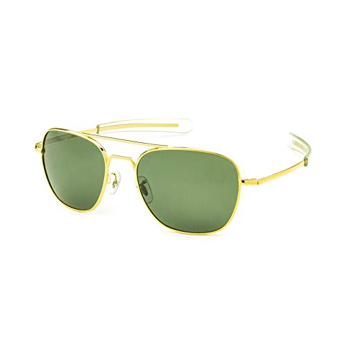 Sunglasses Mendesigned New American Army Military Vintage Uv400 Polarized Aviator Luxury Fashion