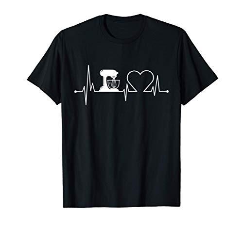 Küchenmaschine Herzschlag | Mir Reichts Ich Geh Backen T-Shirt