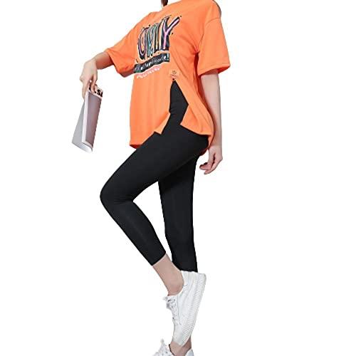 XUNHOU Leggings de Yoga de Control de Abdomen,Pantalones de Yoga de Cintura Baja,Mallas Deportivas para Correr-Black_XL,Polainas de Yoga Ropa de Gimnasia