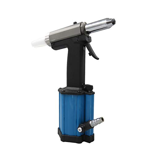 Pneumatische kern voor het trekken van de nietmachine met drie bakken, hydraulische klinkpistool, industrieel gereedschap