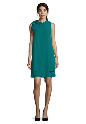 Vera Mont Damen 0053/4825 Kleid, Grün (Green Ivy 5488), (Herstellergröße: 40)
