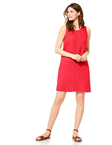 Cecil Damen 142592 Kleid, Sizzling Coral red, Large