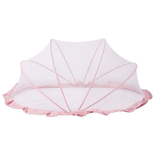 Fanville Ultraleichtes Baby-Strandzelt Tragbares Pop-up-Kinderbett Matratze Reisebett Kinder Baby Moskitonetz für Bett Tragbares faltbares Neugeborenes Reisezelt