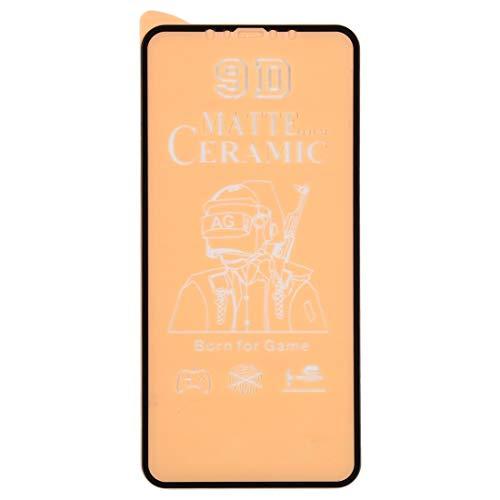 Película de Vidrio LXQ para iPhone 12 Mini 25 PCS 9D Pantalla Completa Pegamento Completo Cerámica Frosted Film