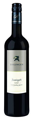 Württemberger Wein Esslinger Schenkenberg Zweigelt QW - Im Eichenfass gereift - trocken ( 1 x 0.75 l)