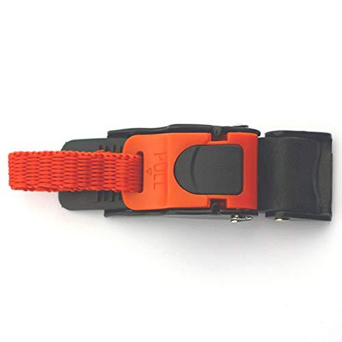 Hebillas ajustables para liberación de bicicleta para casco de bicicleta, motocicleta, ciclismo,...