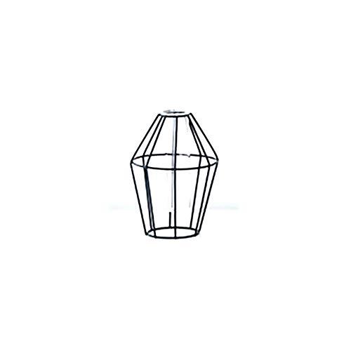 Ouken Geometrische Glas Metall Vase Dekoration für Wohnzimmer/Esszimmer Tisch (Diamond S Vase) 1 PC