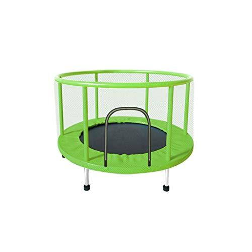 HAYN Trampolín para Inicio Interior Trampolín Niño Adulto Fitness Belt Guard Family Toy Toy Trampoline con Caja de Seguridad (Color : D)