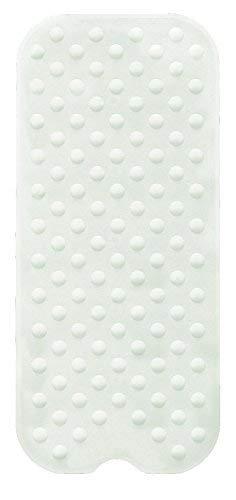 Kleine Wolke 4100100107 Formosa Wanneneinlage, Kautschuk, weiß, 40 x 90 x 2 cm